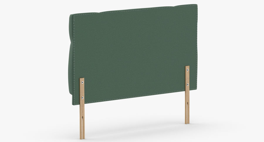 Headboard 13 Mint royalty-free 3d model - Preview no. 6