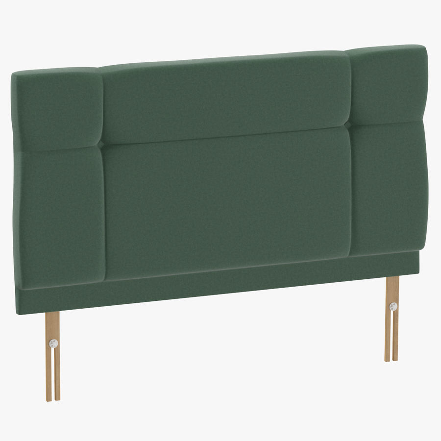 Headboard 13 Mint royalty-free 3d model - Preview no. 1