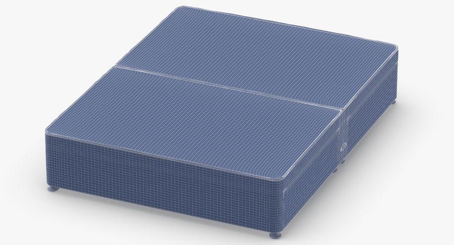 ベッドベース09チャコール royalty-free 3d model - Preview no. 12