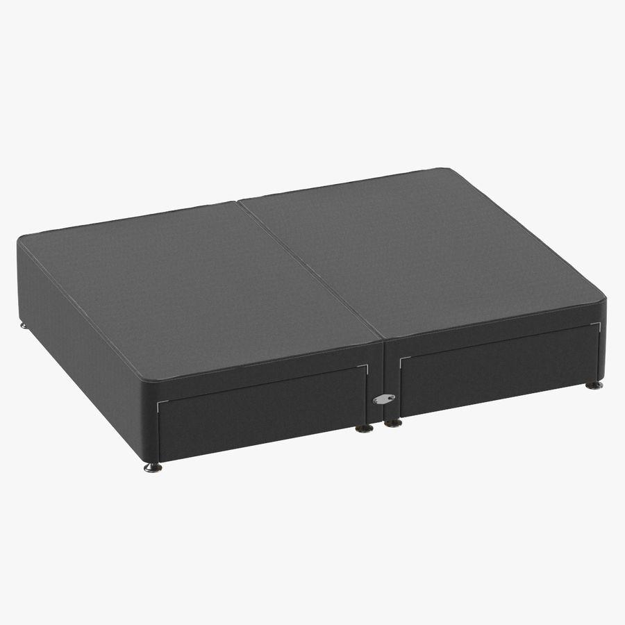 ベッドベース09チャコール royalty-free 3d model - Preview no. 1