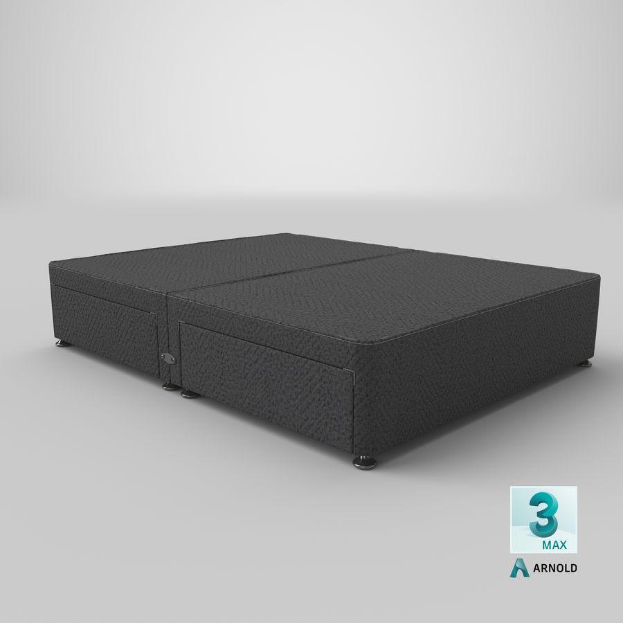 ベッドベース09チャコール royalty-free 3d model - Preview no. 23