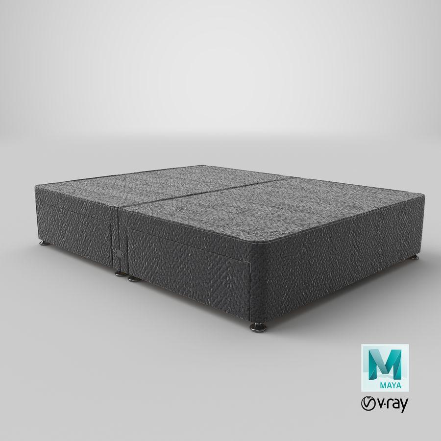 ベッドベース09チャコール royalty-free 3d model - Preview no. 28