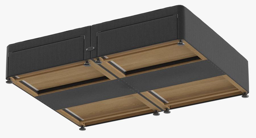 Sommier 09 Charbon De Bois royalty-free 3d model - Preview no. 8