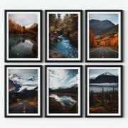 Posters - Alaska 3d model