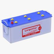 Bateria de carro acidificada ao chumbo selada 3d model