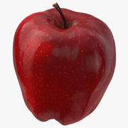 Red Chief Apple 03 3d model