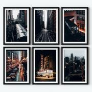 Affiches - Chicago 3d model