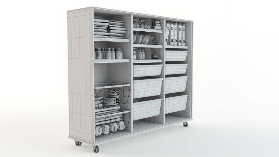 medical cart royalty-free 3d model - Preview no. 16