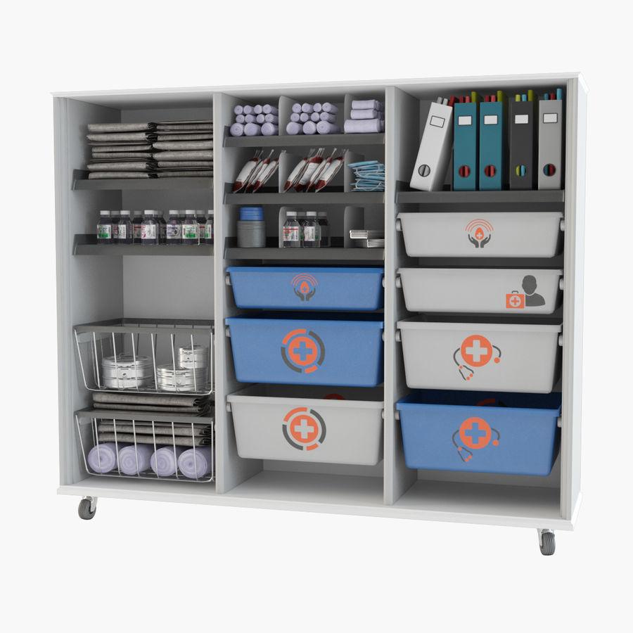 medical cart royalty-free 3d model - Preview no. 1