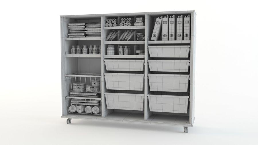 medical cart royalty-free 3d model - Preview no. 11