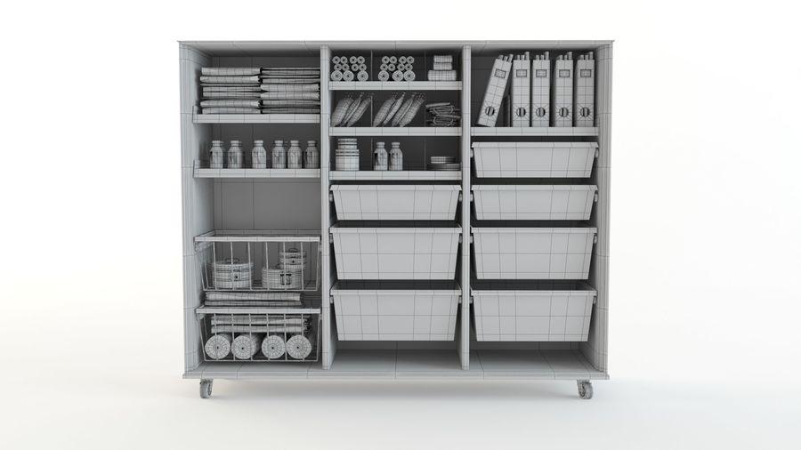 medical cart royalty-free 3d model - Preview no. 12