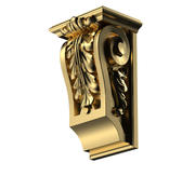 Corbel with Acanthus 3d model