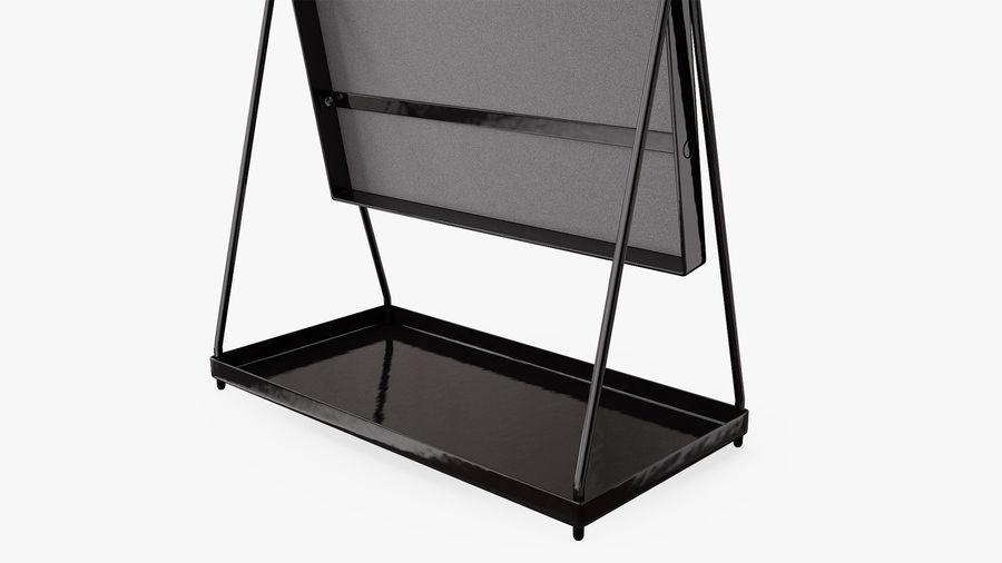 Spegel för toalettbord royalty-free 3d model - Preview no. 6