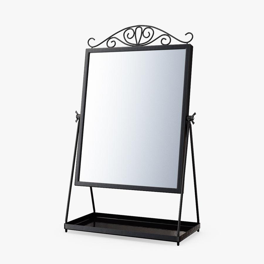 Spegel för toalettbord royalty-free 3d model - Preview no. 1