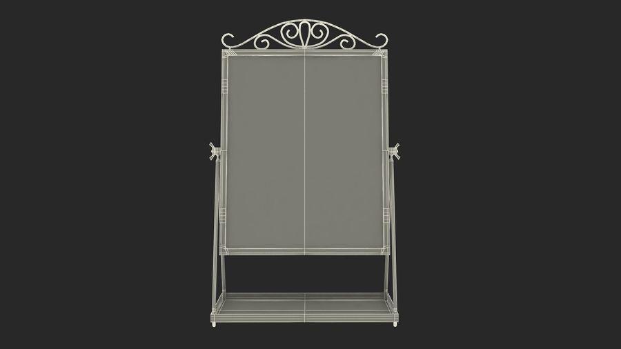 Spegel för toalettbord royalty-free 3d model - Preview no. 16