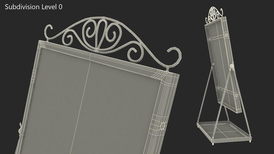Spegel för toalettbord royalty-free 3d model - Preview no. 8