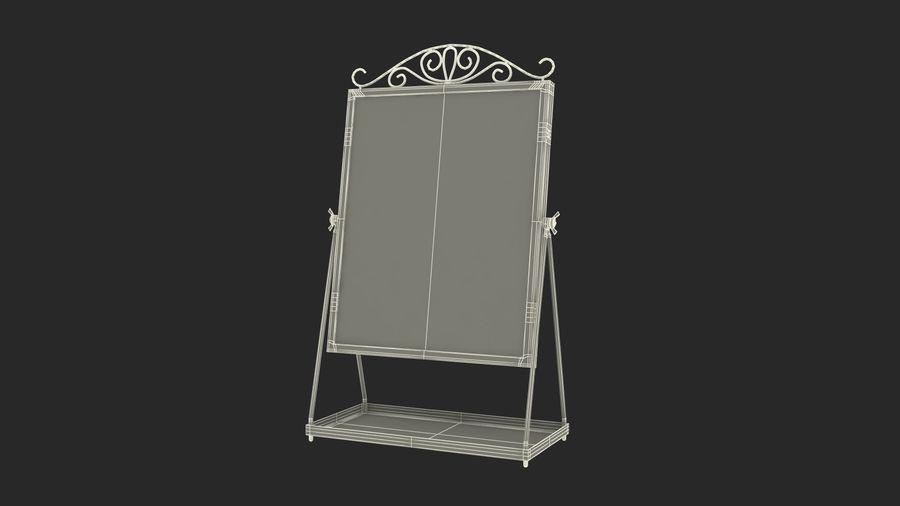 Spegel för toalettbord royalty-free 3d model - Preview no. 15