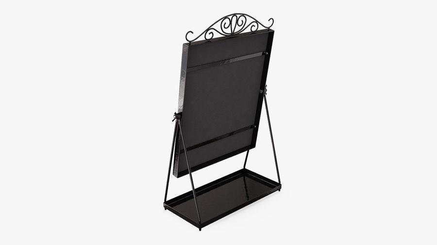 Spegel för toalettbord royalty-free 3d model - Preview no. 4