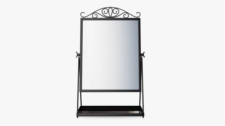 Spegel för toalettbord royalty-free 3d model - Preview no. 3