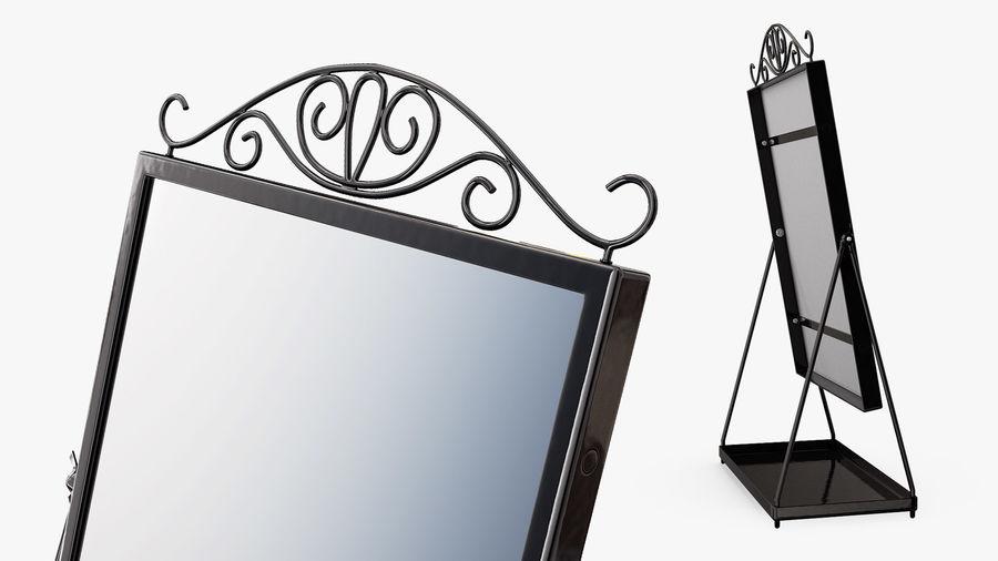 Spegel för toalettbord royalty-free 3d model - Preview no. 5