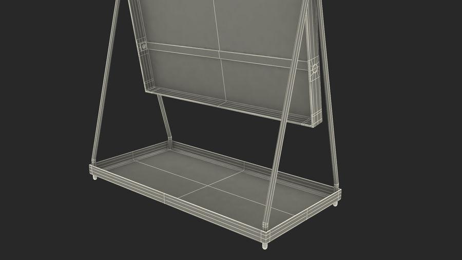 Spegel för toalettbord royalty-free 3d model - Preview no. 17