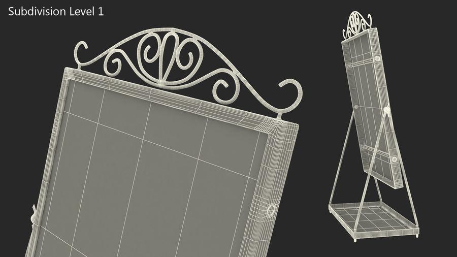 Spegel för toalettbord royalty-free 3d model - Preview no. 9