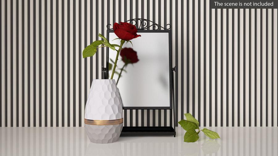 Spegel för toalettbord royalty-free 3d model - Preview no. 2