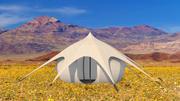 Glamping Yurt 3d model