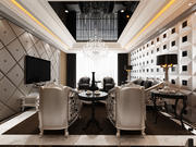 Salon de luxe 3d model
