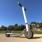 Electric scooter model 050 Faceted diamond 3d model