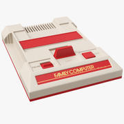 Nintendo Family Computer Console 3d model