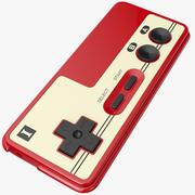 Joystick Nintendo 3d model
