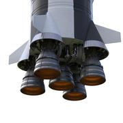 Apollo XIII raket 3d model