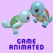 Gioco animato POKEMON Squirtle già 3d model
