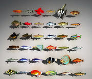 생선 자산 3d model