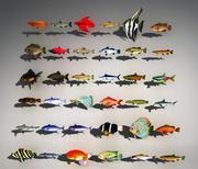 ativo de peixe 3d model