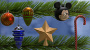 3D Christmas balls and toys 3d model