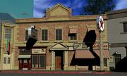 Hill Valley  Lawrence Building, Broadway Florists & Halls Bike Shop 3d model