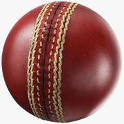Generic Cricket Ball 3d model