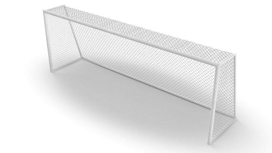 Soccer Goal royalty-free 3d model - Preview no. 5