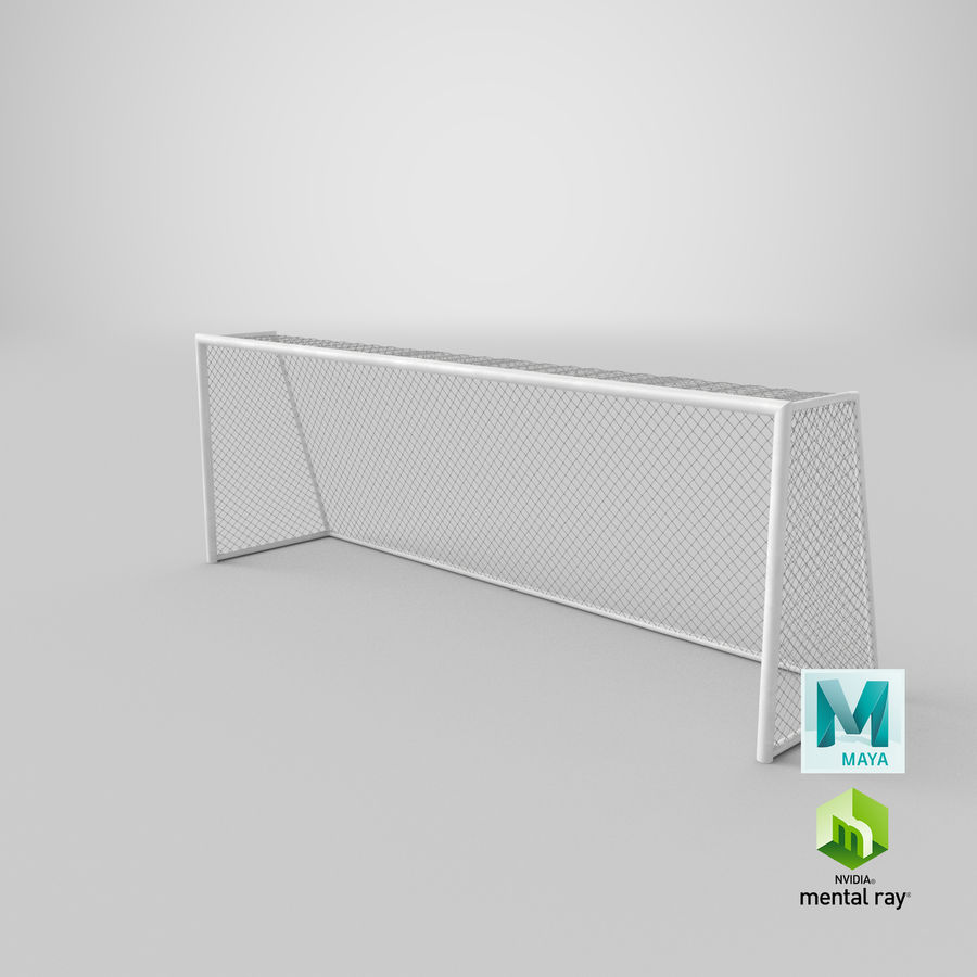 Soccer Goal royalty-free 3d model - Preview no. 19