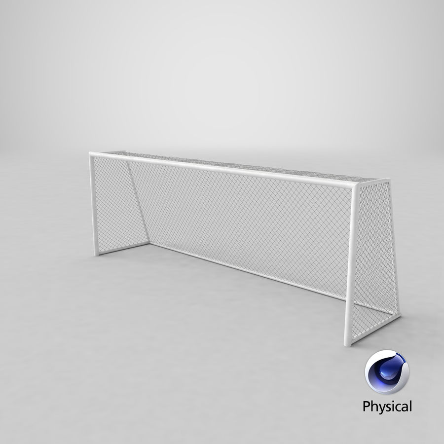 Soccer Goal royalty-free 3d model - Preview no. 13