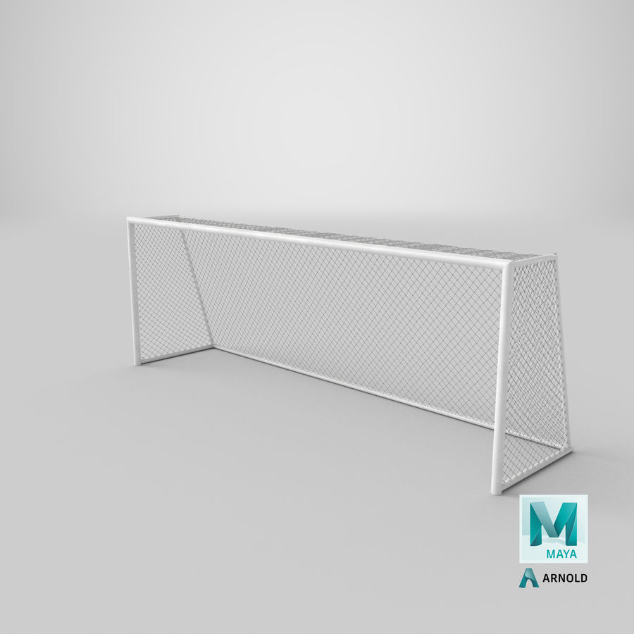 Soccer Goal royalty-free 3d model - Preview no. 18