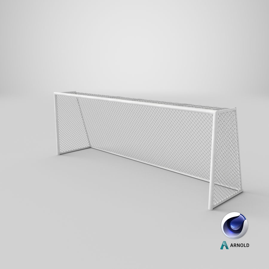 Soccer Goal royalty-free 3d model - Preview no. 14
