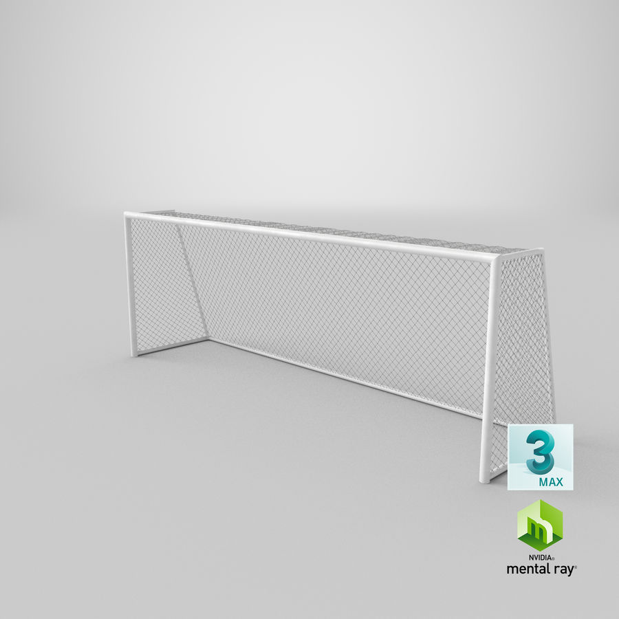 Soccer Goal royalty-free 3d model - Preview no. 16