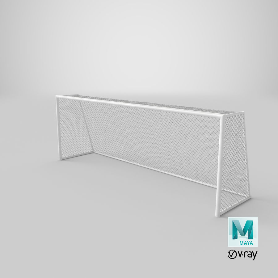 Soccer Goal royalty-free 3d model - Preview no. 20
