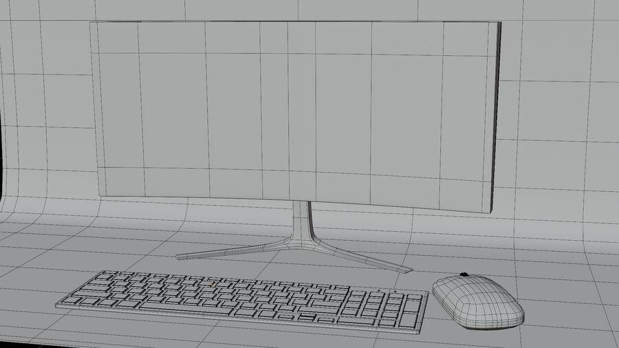 COMPUTER DESKTOP royalty-free 3d model - Preview no. 2