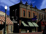 Hill Valley - Blue Bird Motel 3d model