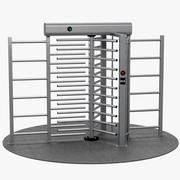 Turnstile Full Height 3d model
