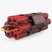炸药定时炸弹 3d model